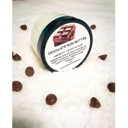 CHOCOLATE WHIPPED NATURAL HANDMADE BODY BUTTER MOISTURIZER