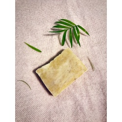 PATCHOULI ESSENTIAL OIL Palm Oil Free Handmade Vegan Soap Bar with Slate Kaolin Clay