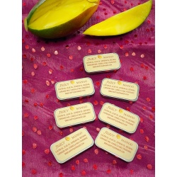 MANGO BEESWAX ALL NATURAL HANDMADE LIP BALM FROM HAPPYSOAPMAKER