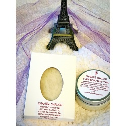 CHANEL CHANCE TYPE HANDMADE ALL NATURAL SOAP AND BODY BUTTER GIFT SET FROM HAPPYSOAPMAKER