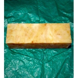 SANDALWOOD SOAP LOAF WHOLESALE  WITH TURMERIC FROM HAPPYSOAPMAKER