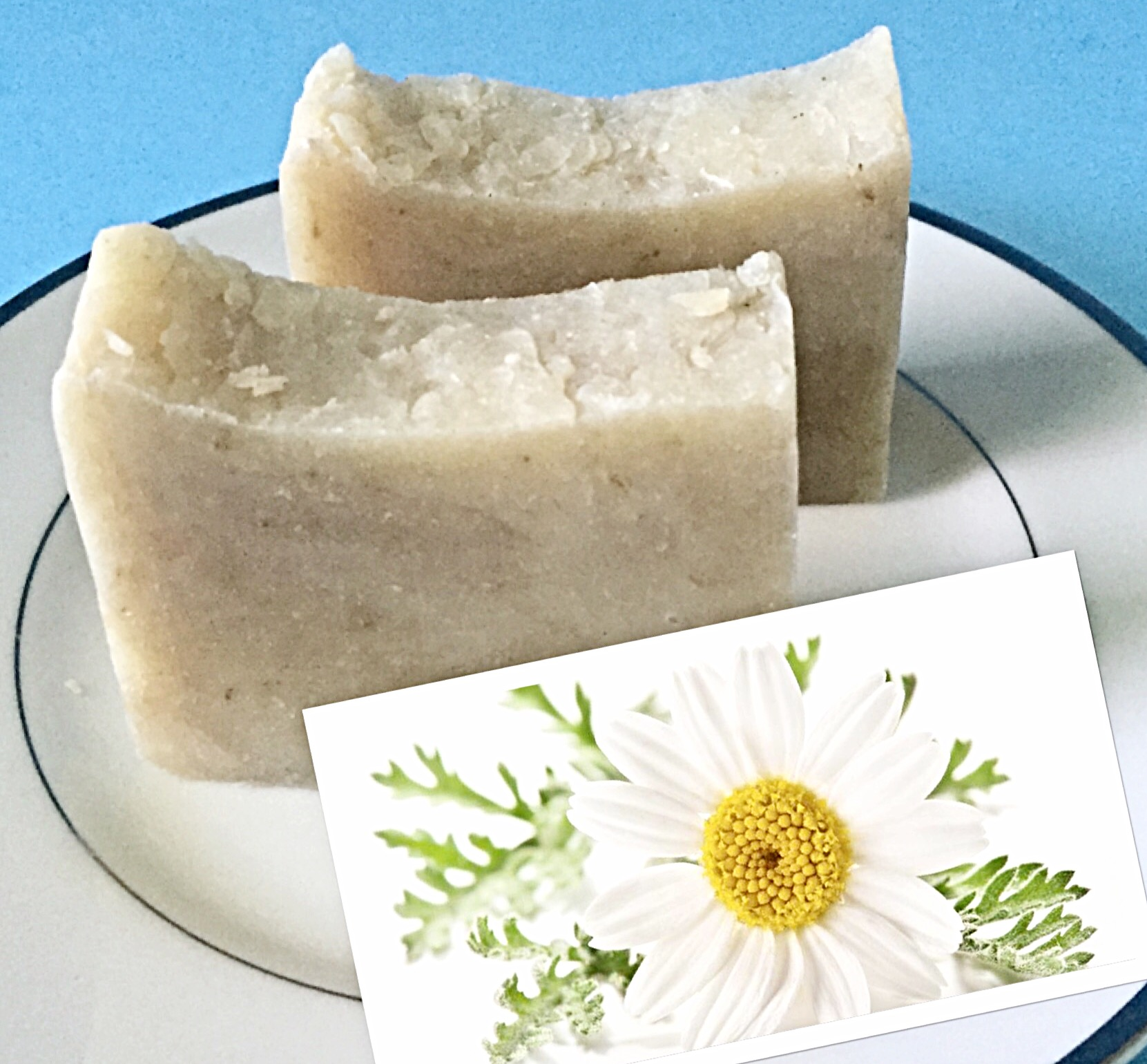 CHAMOMILE NEROLI NATURAL HOMEMADE SOAP BAR